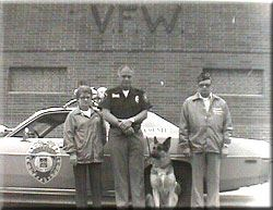 Officer Pince and Wolf 1980