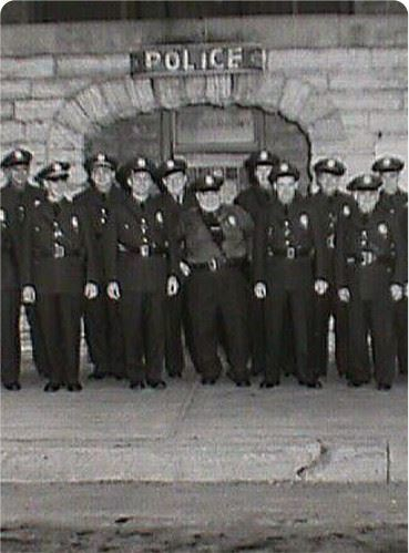 Retro Police Force Photos