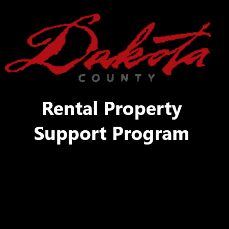 "Image with words ""Dakota County Rental Property Program"""