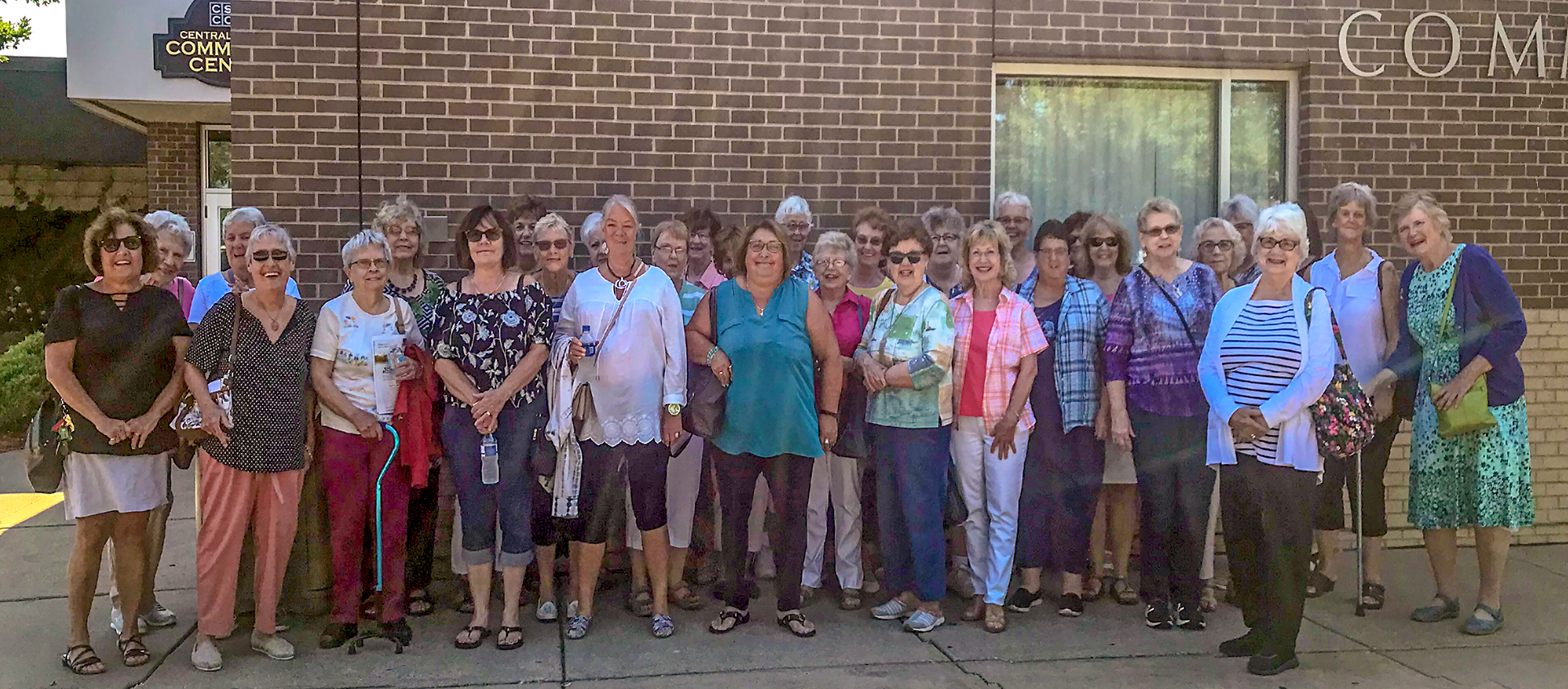 South St. Paul Group before we headed to Mama Mia August 8th, 2019