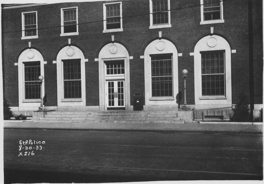 Photos of Post Office in 1933