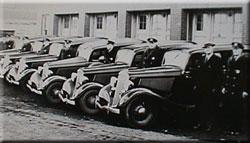 Photos of Cops and Cars circa 1933