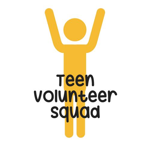 Teen volunteer squad logo
